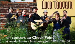 LOCA TANGATA (folk-world-chanson) au CHECK POINT