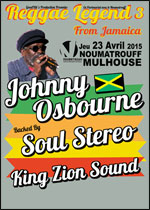 REGGAE LEGEND 3 / JOHNNY OSBOURNE - SOUL STEREO - KING ZION SOUND