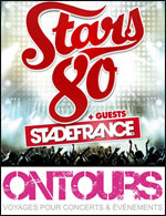 STARS 80 : BUS STRASBOURG + BILLET - A/R EN BUS + BILLET CARRE OR