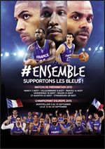FRANCE / ALLEMAGNE - PREPARATION A L'EUROBASKET 2015