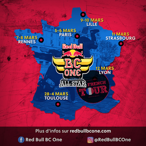 "BATTLE ""NEED FOR DANCE"" - RED BULL BC ONE ALL STAR TOUR"