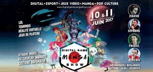 DIGITAL GAME'MANGA SHOW - PASS WEEK-END