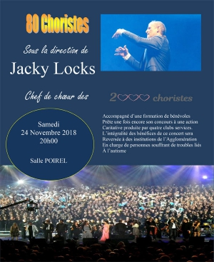 """80 CHORISTES"" - CONDUITS PAR JACKY LOCKS"