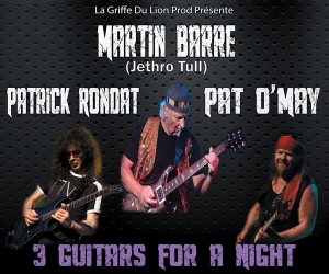 3 GUITARS FOR A NIGHT + GUEST: CAMEMBERT