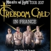 affiche FREEDOM CALL + GUEST - MASTER OF LIGHT TOUR