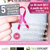 affiche Selestat contre le Cancer