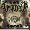 affiche BEYOND CREATION / CARCARIASS - VIRVUM / KHASM