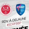 affiche STADE DE REIMS / BOURG EN BRESSE 01 - DOMINO'S LIGUE 2 - 4EME JOURNEE