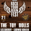 affiche ROCK YOUR BRAIN FEST - DISORDER DAY
