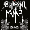 affiche SKELETONWITCH , MANTAR & DEATHRITE