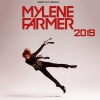 affiche MYLENE FARMER BUS STRASBG +FOSSE OR - PARIS DEFENSE ARENA