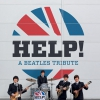 affiche HELP! - TRIBUTE THE BEATLES