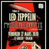affiche PHYSICAL GRAFFITI TRIBUTE LED ZEP - 1ERE PARTIE PEELED CUBES