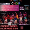 affiche MASTERCLASS SOWETO CHOIR - ET HAPPY SOULS GOSPEL DE NANCY
