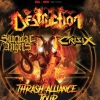 affiche DESTRUCTION , SUICIDAL ANGELS & - CRISIX
