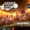 affiche ROCKIN 1000 STRASBOURG BUS+CARRE OR - STADE DE FRANCE
