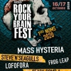affiche ROCK YOUR BRAIN FEST #8 SAMEDI